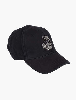 Lucky Brand SKULL EMBROIDERY HAT