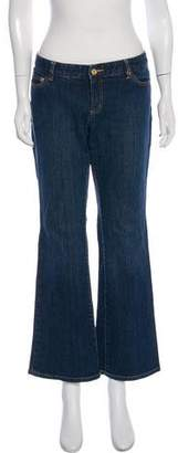Michael Kors Mid-Rise Flared Jeans