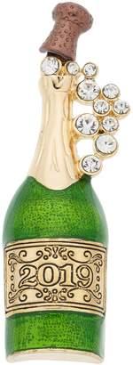 "Napier ""2019"" Champagne Bottle Pin"