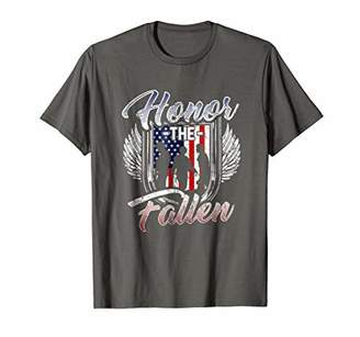 Honor the Fallen Military Freedom Pride T-Shirt