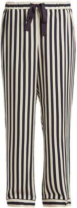 Morgan LANE Ryan striped pyjama trousers