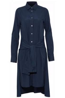 Maison Margiela Belted Cotton-Poplin Shirt Dress