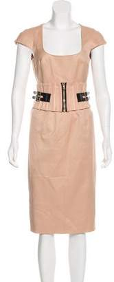Dolce & Gabbana Belted Midi Dress