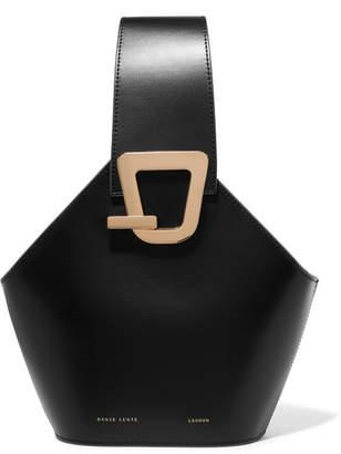 Lente Danse Johnny Mini Leather Bucket Bag - Black