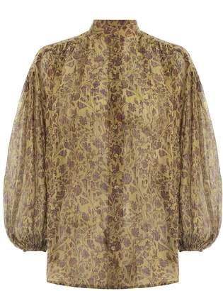 Zimmermann Juniper Crinkle Shirt