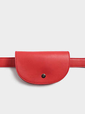 New Beyondher Womens Belt Bag In Red Bags Belts Festivals Bags