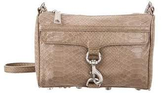 Rebecca Minkoff Embossed Leather M.A.C. Crossbody Bag