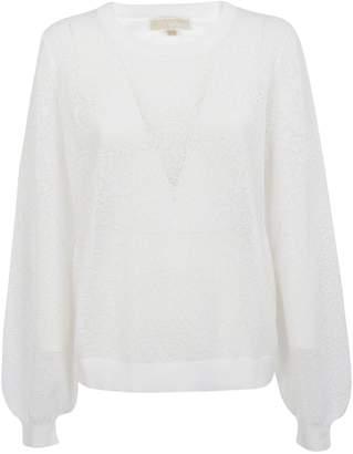 Michael Kors Floral Patterned Dress