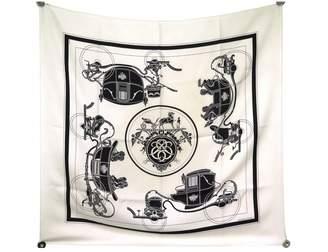 Hermes Beige Silk Silk handkerchief