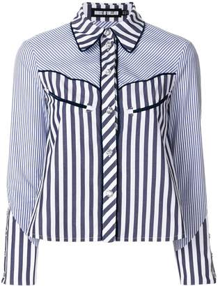 House of Holland striped shirt