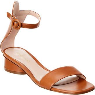 Stuart Weitzman Kiwi Flat Leather Sandal
