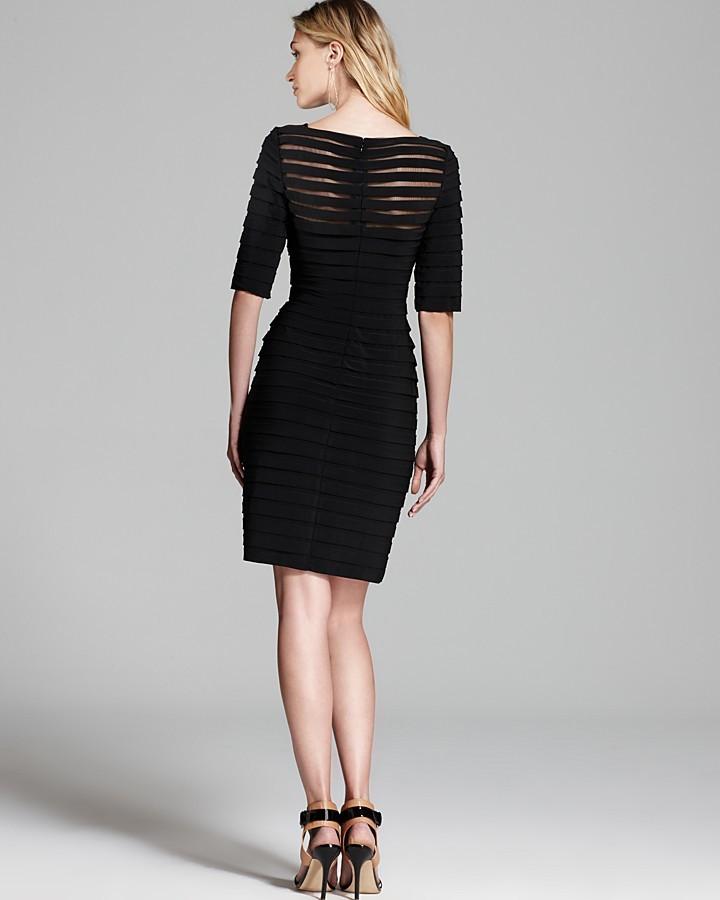 Adrianna Papell Illusion Dress 2