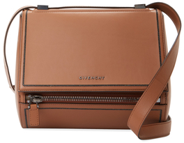 GivenchyPandora Box Medium Leather Crossbody