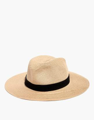67236567168 Madewell Packable Mesa Straw Hat