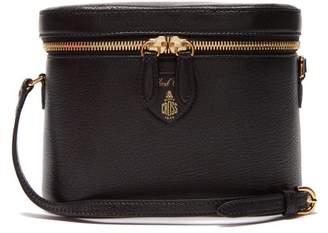 Mark Cross Ginny Goatskin Leather Cross Body Bag - Womens - Black 539e6f11c0529
