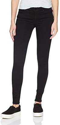 Black Orchid Women's Jude Mid Rise Super Skinny