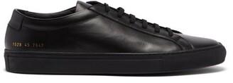 Common Projects Original Achilles Low Top Leather Trainers - Mens - Black
