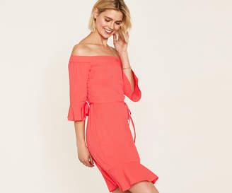 Oasis Bardot Skater Dress