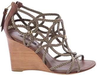 Louis Vuitton Leather sandal