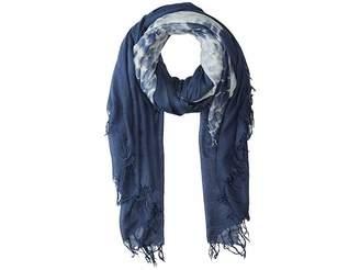 Chan Luu Cashmere Silk Tie-Dye Scarf