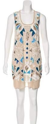 Needle & Thread Sequin Embellished Mini Dress