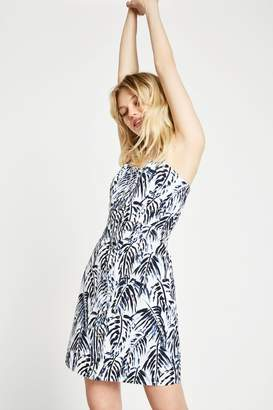 Jack Wills Dress- Honeybalme Printed Tie Shoulder