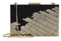 Valentino Wave Chain Strap Clutch