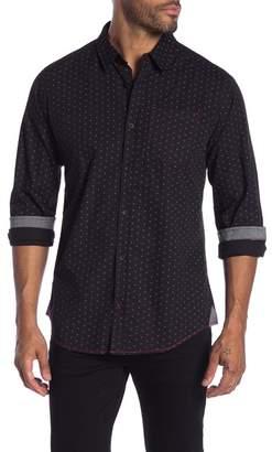 Burnside Novelty Print Regular Fit Shirt