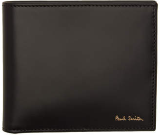 Paul Smith Black Signature Stripe Interior Wallet