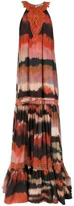 Martha Medeiros silk maxi gown