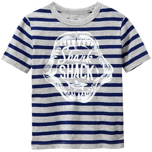 Gap Striped graphic T