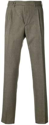 Berwich cropped slim tailored trousers