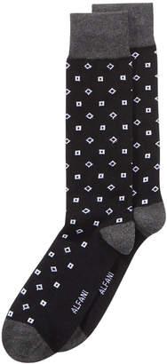 Alfani Men's Square-Print Socks, Created for Macy's
