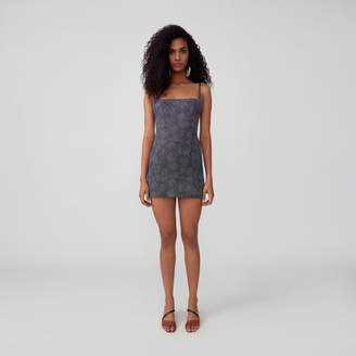Fame & Partners Scoop Back Fitted Dress