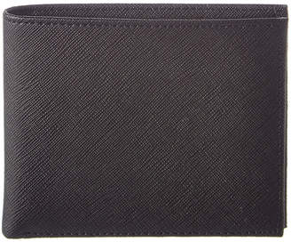 Brooks Brothers Stripe Leather Billfold