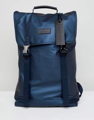 Consigned Double Clip Backpack In Navy