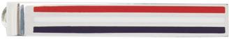 Thom Browne Tricolor Striped Tie Bar $425 thestylecure.com
