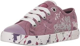 Geox Kids J CIAK G. D Sneakers, Fuchsia/White