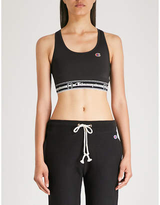 Champion Logo-print stretch-jersey sports bra
