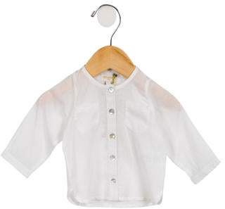 Moon et Miel Infants' Long Sleeve Button-Up Shirt w/ Tags