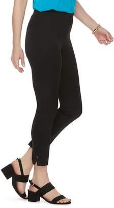 Dana Buchman Women's Rivet Pull-On Ankle Pants