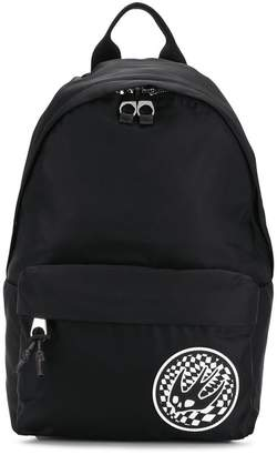 McQ contrast Swallow patch backpack