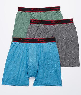 Champion Active Performance Boxer Brief 3-Pack Underwear - Men's