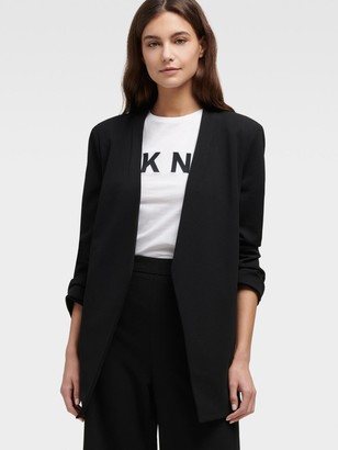 DKNY Open-front Blazer