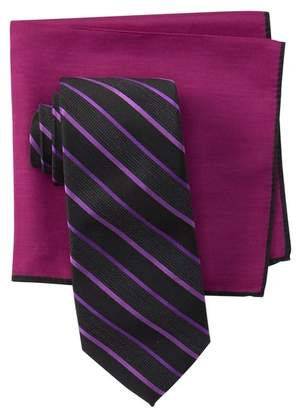 Ted Baker Alternating Satin Striped Tie Set