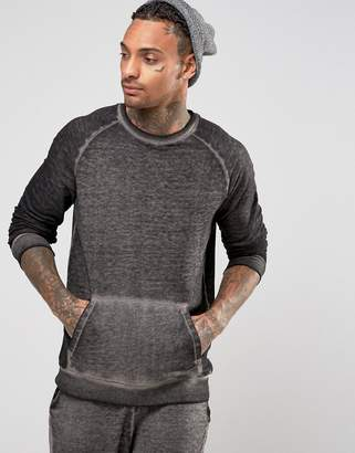 Asos Sweatshirt With Burnout