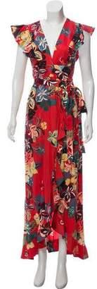Alexis Floral Maxi Dress w/ Tags