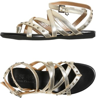Cesare Paciotti 4US Toe strap sandals - Item 11385496NO