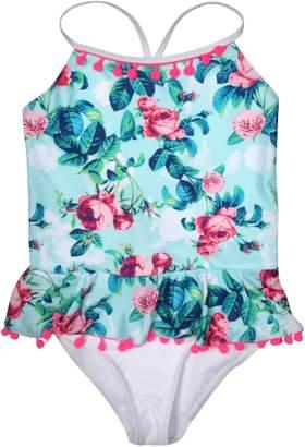 Betsey Johnson Girls 1-Piece Swimsuit