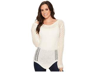 Rock and Roll Cowgirl Long Sleeve Sweater 48T4720 Women's Sweater